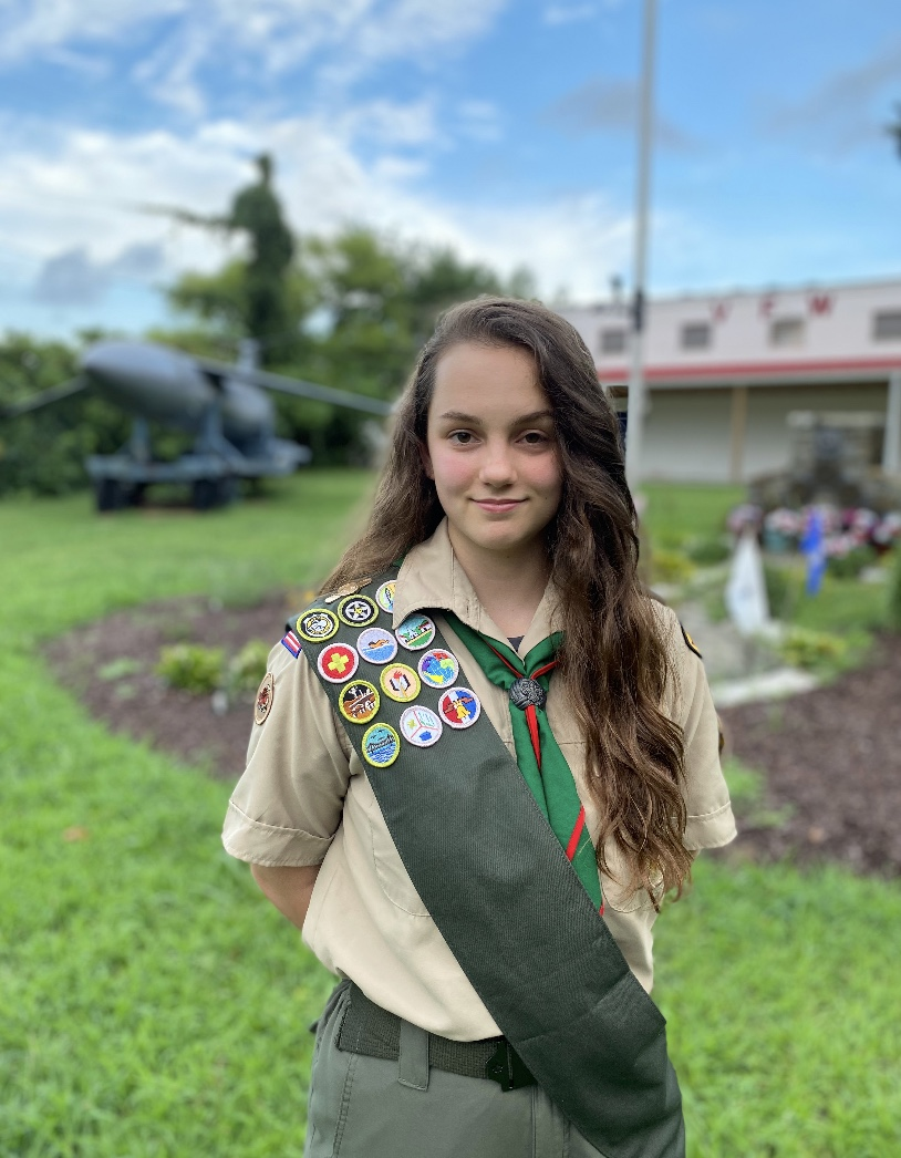Life Scout Ilea Wesley